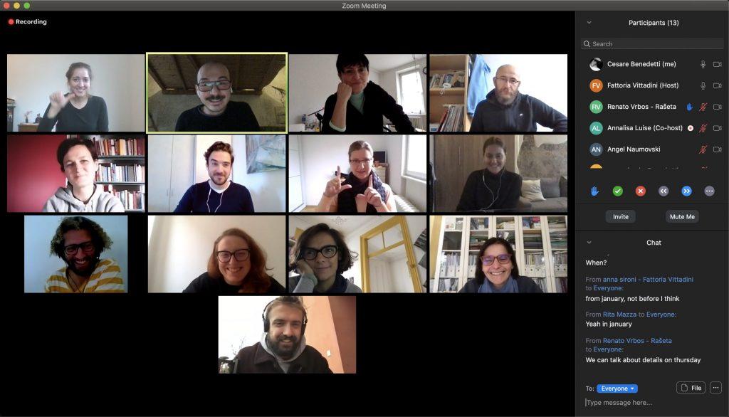 virtualni početni sastanak zumiranja