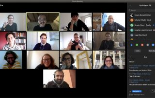 virtual kick-off zoom meeting